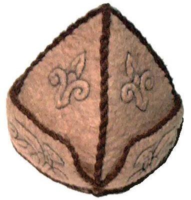 Honfoglaláskori süveg, csikós kalap, harci sisak, hímzett sapka