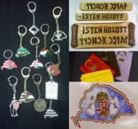 Magyaros kulcstartók, egyéb használati tárgyak
