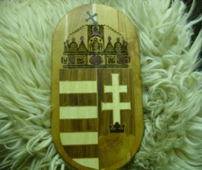 Magyar címer intarziakép