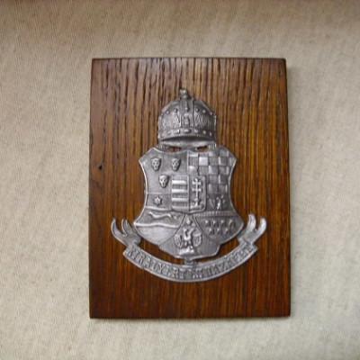Királyért a Hazáért címer falidísz