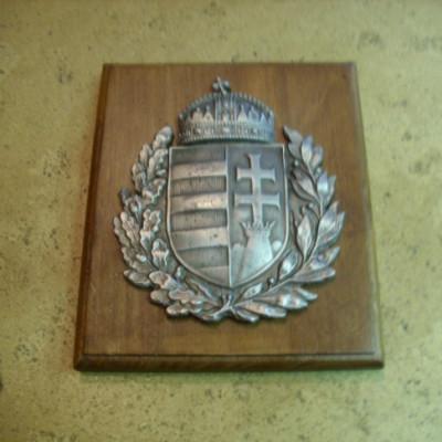 Lombos címer falidísz