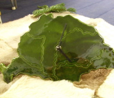 Nagy-Magyarország kerámia falióra