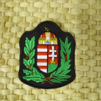 Címer felvarró-lombos címer