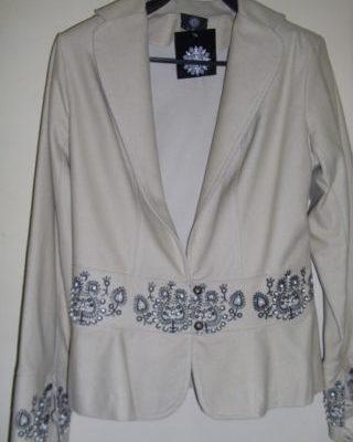 népies rövid női kabát