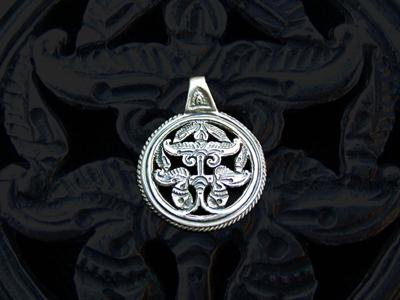 anarcsi életfa ezüst medál