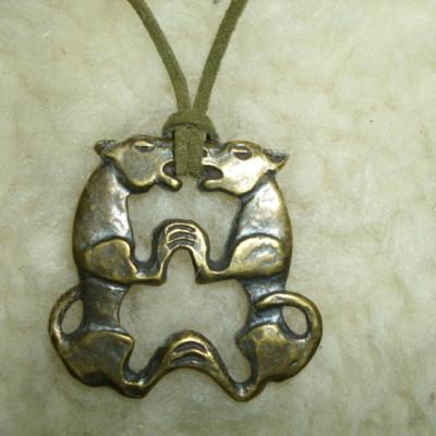 Ikeroroszlán medál