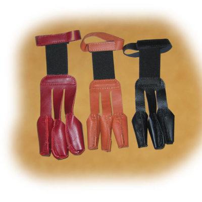 Egyszerű ujjvédő húzókesztyű