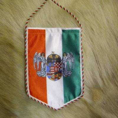 Angyalos címeres autós zászló
