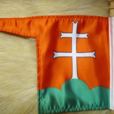 Árpád-házi királyi zászló a 12.sz. végétől