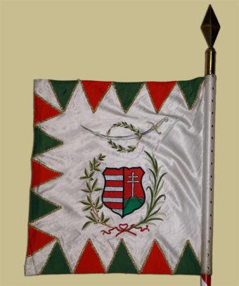 Trónfosztás utáni 1849-es honvéd lovassági zászló