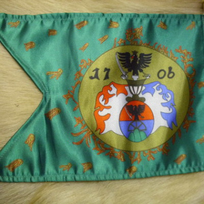 II.Rákóczi Ferenc korabeli kuruc lovassági zászló
