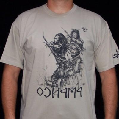 Avarok feliratú férfi póló
