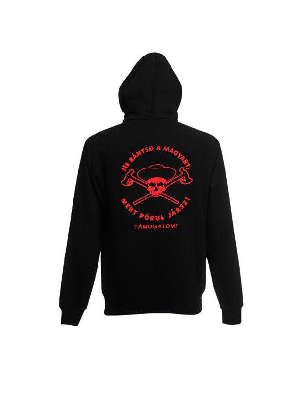Betyársereg támogató pulóver 99badf3baa