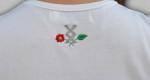 HARCOS hímzett női póló