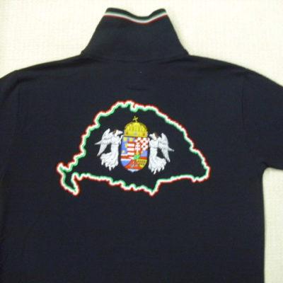 nagy magyarországos himzett ingpóló