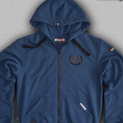 HARCOS kék pulóver