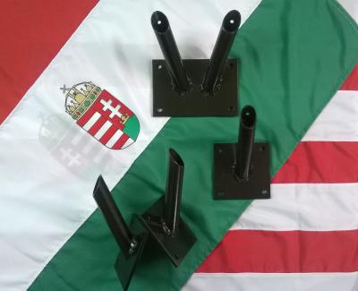 fali zászlótartó