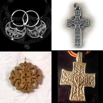 Ezüst ékszer, magyar ékszer, honfoglaláskori ékszer, egyéb ékszerek