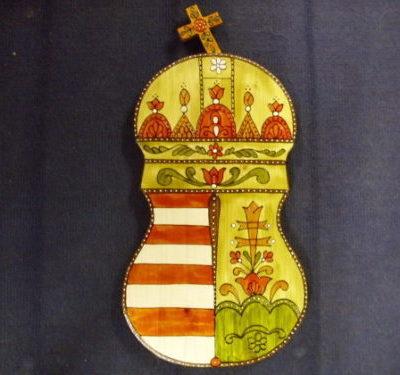 népies festett címer