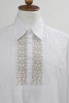 hímzett fehér székely ing