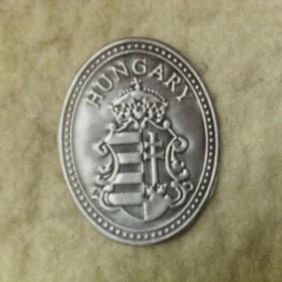 fém felragasztható magyar címer matrica