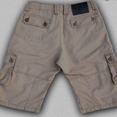 HARCOS homokszínű rövidnadrág