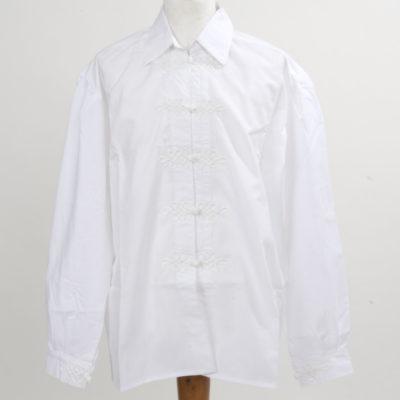 zsinóros fehér férfi ing