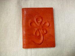 narancssárga kártyatartó