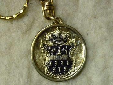Erdély címere kulcstartó
