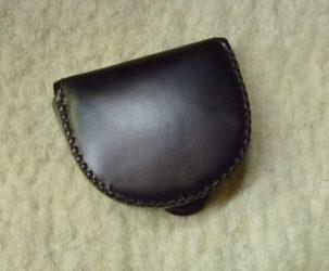 fekete patkó pénztárca