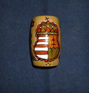 címeres festett ceruza tartó