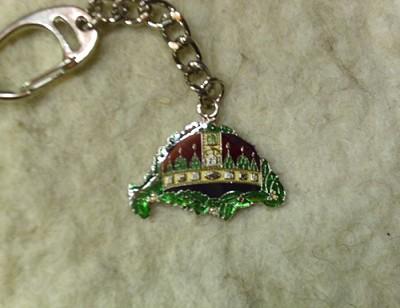 Nagy Magyarország Szent koronával kulcstartó