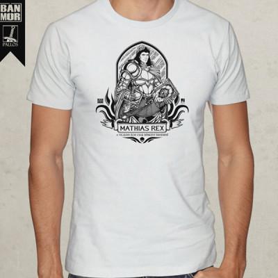 Hunyadi Mátyás fehér póló