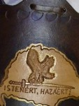 üveg flaska nagy Magyarország bőr borítással