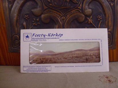 Feszty- Körkép reprodukció borítékban
