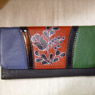 színes pénztárca