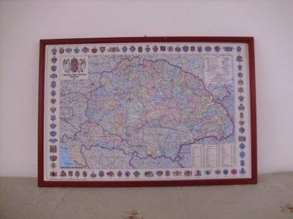 Magyarország térképe 1914