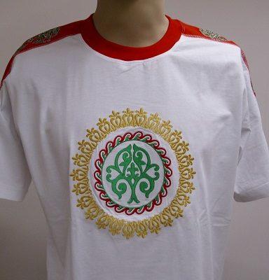 életfás hímzett póló