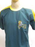 oroszlános hímzett póló