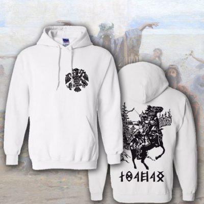 belebújós pulóver lovasíjásszal
