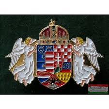 egyesített magyar címer jelvény
