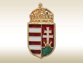 magyar címer jelvény