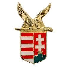 magyar címer jelvény kardos turullal