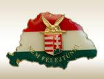Magyarország kardos turulos címerrel jelvény