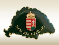 Magyarország címerrel jelvény
