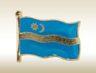 székely zászló jelvény