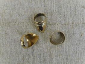 bronz íjászgyűrű