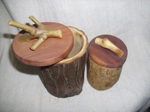 fedeles fa kéregedény