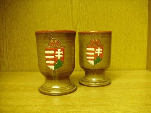 címeres kerámia pohár