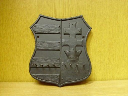 címer fali kulcstartó